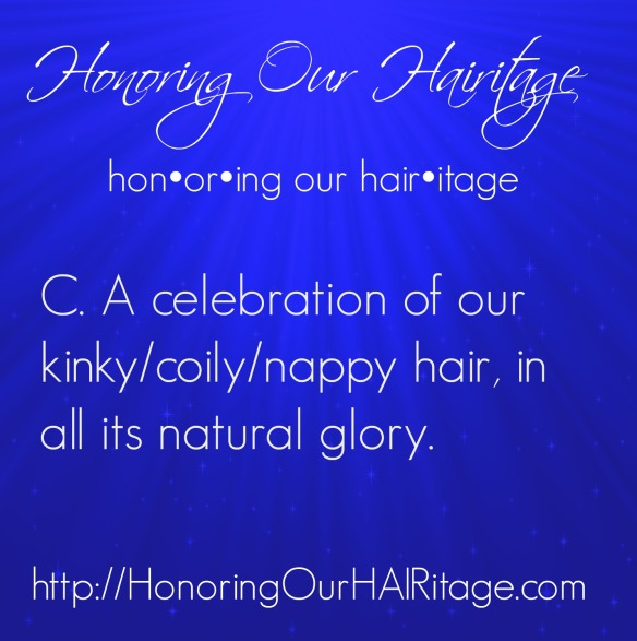 HAIRitage Definition 3