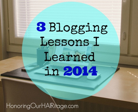 Post Image - 3 Blogging Lessons