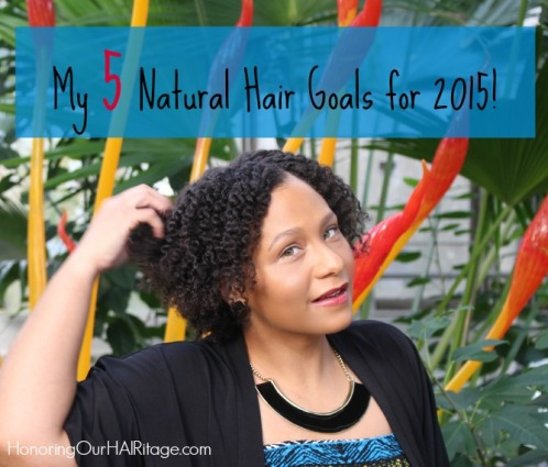 Post Image - 5 Natural Hair Goals 2015